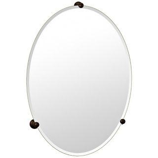 Gatco Oldenburg Bronze Finish Oval Wall Mirror   #P6592