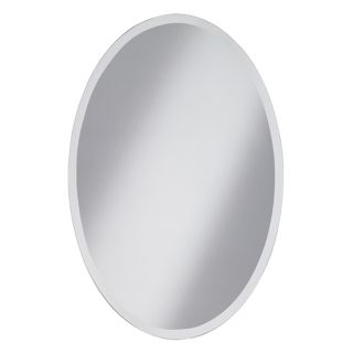 "Oval Regency 36"" High Beveled Wall Mirror   #94993"