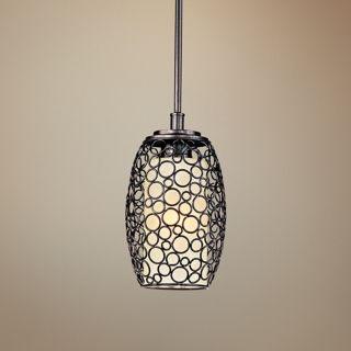 """Maxim Meridian 7"""" Wide Umber Bronze Mini Pendant Light   #V3301"""
