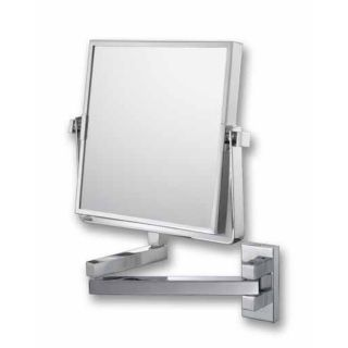 "Aptations Double Arm Chrome Vanity 7 1/2"" Wide Wall Mirror   #66481"