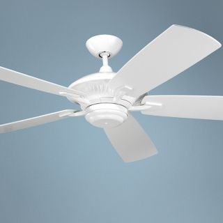 "60"" Cyclone White Indoor Outdoor Energy Star Ceiling Fan   #54512"
