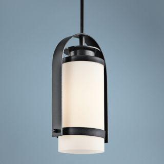 "Kichler Westport 14 1/2"" High Black Outdoor Pendant Light   #V9390"