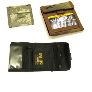 Spec Ops T H E Wallet Jr Tri Fold ACU Black Multicam Available