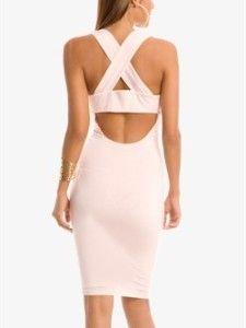 Guess by Marciano Julianna Criss Cross Dress XS 0