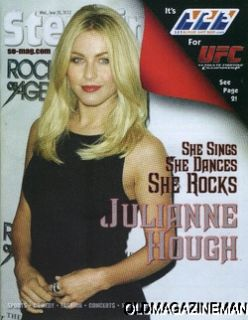 Julianne Hough Steppin Out Magazine June 2012 Rock of Ages Dancing