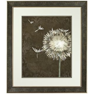 Walt Disney Beauty and The Beast Dandelion Framed Wall Art   #J5246