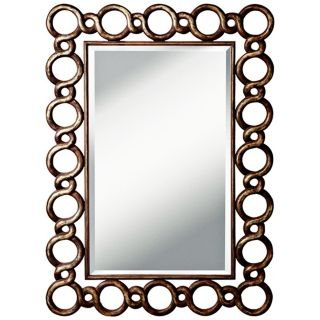 "Kichler Cable 52 1/4"" High Distressed Silver Wall Mirror   #X5802"
