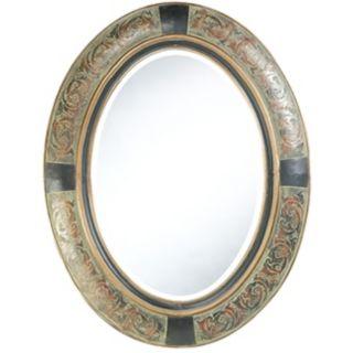 "Cooper Classics Sawyer 35"" High Wall Mirror   #U9985"