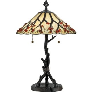 Quoizel Naturals Collection Whispering Wood Table Lamp   #K3730