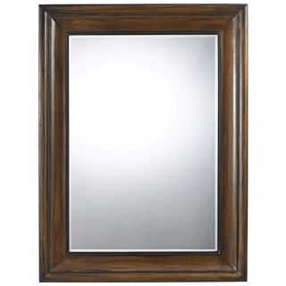 "Laurel 48"" High Mahogany Rectangular Wall Mirror   #X6950"