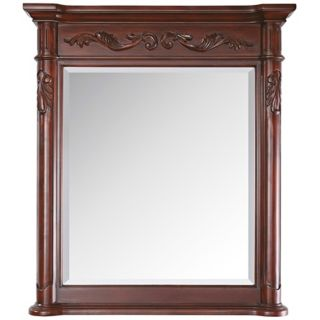 "Avanity Provence 33"" High Antique Cherry Wall Mirror   #Y8634"