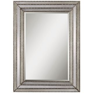 "Uttermost Seymour 46 3/4"" High Rectangular Wall Mirror   #Y5560"