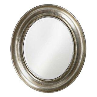 """Tyler Oval Silver Leaf 35"""" High Wall Mirror   #00432"""