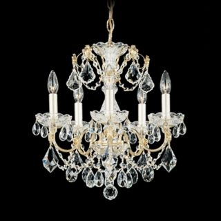 "Schonbek Century Collection 17"" Wide Crystal Chandelier   #N1069"