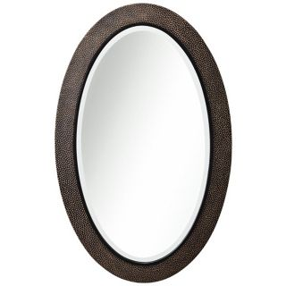 "Kichler Raleigh Oval 38"" High Bronze Wall Mirror   #X4378"