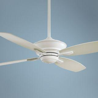 """52"""" Minka Aire New Era Energy Star White Ceiling Fan   #K4641"""