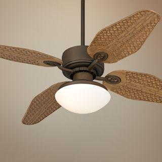 """52"""" Casa Vieja Aerostat Weave Outdoor Ceiling Fan with Light   #V0201 V0208 V0217"""