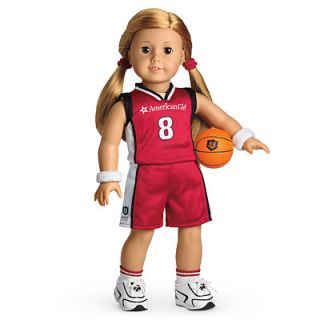New American Girl MYAG Basketball Outfit for Dolls Charm Gym Athlete