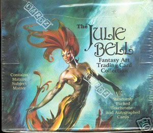 Julie Bell Fantasy Art Trading Card Case 8 Boxes