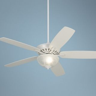 "52"" Journey White Ceiling Fan with ENERGY STAR Light Kit   #M2748 T4198"