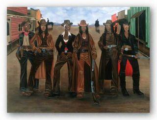 African American Art Sistas N Arms Dwight Juda Ward
