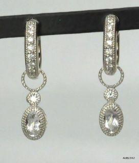 Zasha by Jude Frances Topaz Diamond Earring Charms
