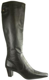 New. $450 Cole Haan Juli Tall Women Knee High Dress Boots 7 Dark