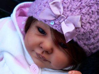 Beautiful Reborn Baby Doll Julia Kit A Timmerman Large Layette Glass