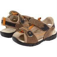 New $54 Jumping Jacks Brad Light Brown Toddler Boys Sport Sandals