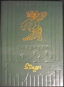 1988 Poplarville Junior Senior High School Yearbook Annual Mississippi
