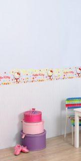 Hello Kitty Blue Wallpaper Border Double Roll 10M UK