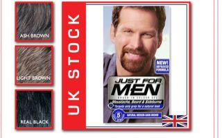 Just for Men Colour Beard Dye Natural Medium Dark Brown