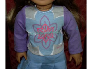 American Girl Just Like You Doll Blonde Hair Brown Eyes Retired 2006