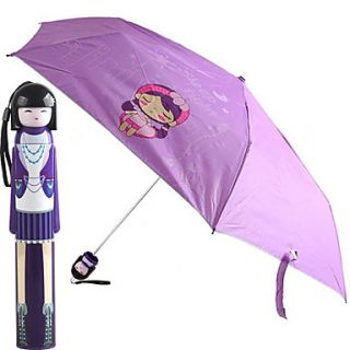 EUR € 15.81   Japanese Style Doll Girl Painting parapluie (Violet