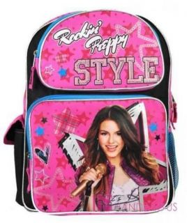 Victorious Victoria Justice School Backpack 16 Large Bag Rockin