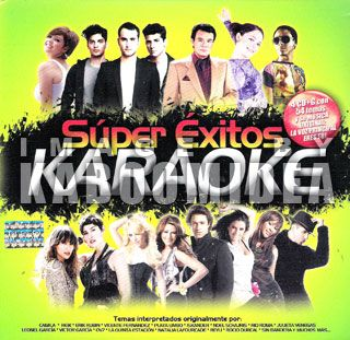 Karaoke Latin Super Exitos Balada Pop 4 CD Rio Roma Camila Ha Ash