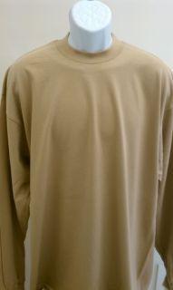 Pro Club Heavyweight Longsleeve T Shirt Khaki SM 7x