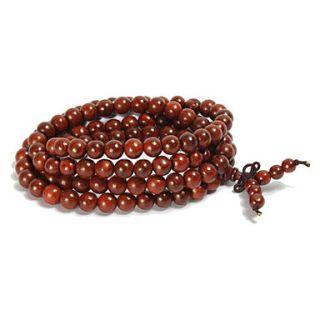 naturales indian bois de rose 108 8mm cuentas de un rosario pulseras