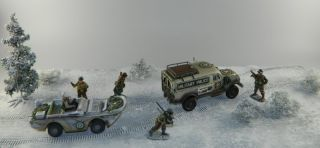 WWII Winter Dio Behind Front Lines Free Mat K C TGM