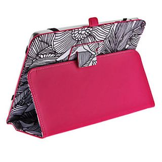 USD $ 14.69   Flowers Pattern Full Body Case with Stand for iPad mini