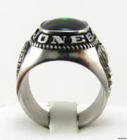 Herf Jones Jewelers Vintage Green Stone Company Ring