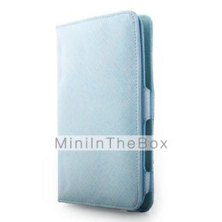 EUR € 12.87   Funda de cuero con soporte para Samsung P1000   azul