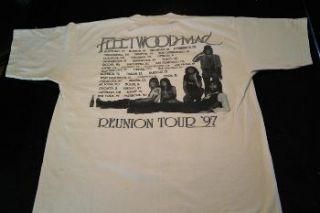 FLEETWOOD MAC ** Reunion Tour 1997 ** Concert t shirt   LARGE