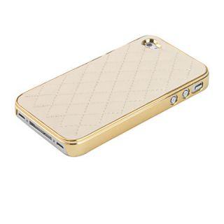 leren iphone 4 4s hoesje in ruitpatroon 00252115 143 schrijf een