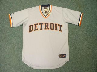 Al Kaline Detroit Tigers Throwback Away Jersey XXL