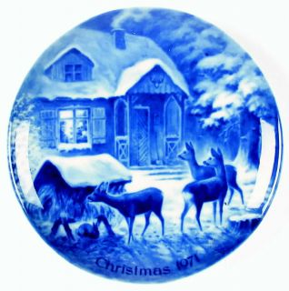 Kaiser Christmas Plate Silent Night 71685