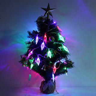 7M 30 LED Leaf Shaped Colorful Light LED Strip Fairy Lamp for Festival