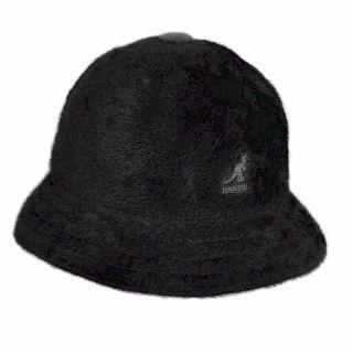 KANGOL Shavora Casual Black Bucket Hat