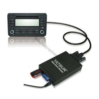 Digital CD Music Changer USB Aux SD  Adapter for Aftermarket JVC
