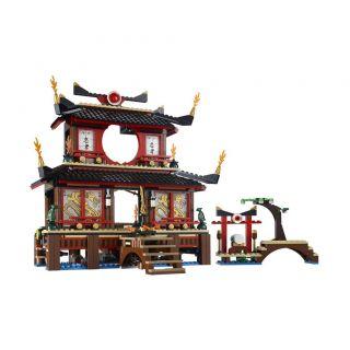 LEGO 2507 NINJAGO Fire Temple incl Sensei Wu, Zane, Kai, Nya, Lord